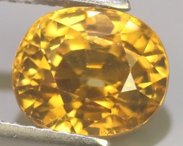 3.70 CTS~TOP LUSTROUS NATURAL ZIRCON CAMBODIA UNHEATED