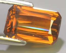3.40 CTS~TOP LUSTROUS NATURAL ZIRCON CAMBODIA UNHEATED