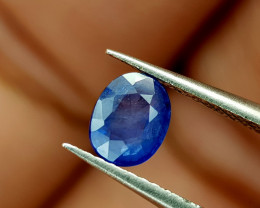 0.45Crt Blue sapphire Heat be Natural Gemstones JI95