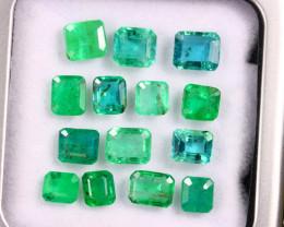 8.06cts Natural Zambian Green Emerald LOTS/DEMA2837
