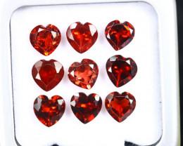 12.15cts Natural Tanzania Mahenge LOVE Garnet LOTS /OEMA2842