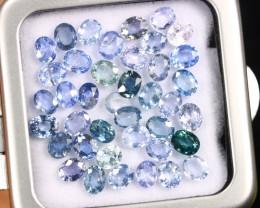 13.52cts Natural Ceylon Blue Sapphire LOTS /BMA2846