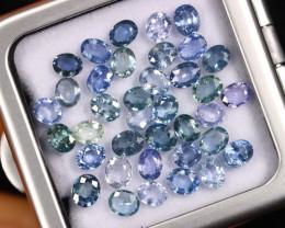 11.70cts Natural Ceylon Blue Sapphire /BMA2862