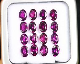 8.52cts Natural Purple Grape Garnet LOTS /ACMA2865