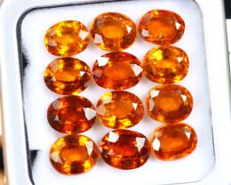 24.15cts Natural Hessonite Garnet LOTS /OEMA2866