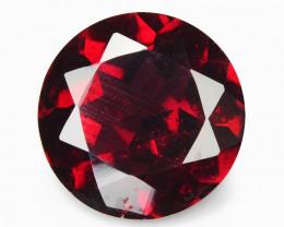 Rhodolite Garnet 1.85 Cts Unheated Natural Cherry Pinkish Red  Gemstone