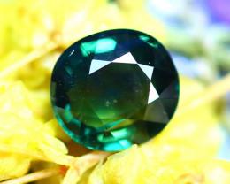Unheated Sapphire 0.92Ct Natural Peacock Sapphire D2206/B9