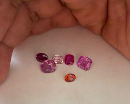 Glass Souvenir - Colorful small stones