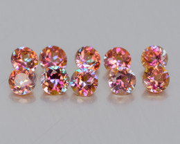 Mystic Topaz 0.77 Cts  6 Pcs  Fancy Multi Color Natural Gemstone- Parcel