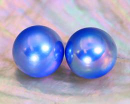 Akoya Pearl 7.7mm 6.52Ct Natural Akoya Blue Pearl A1927