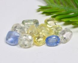 Unheated Sapphire 13.69Ct Natural Ceylon Fancy Sapphire Lot A1935