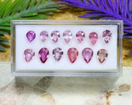 Pink Sapphire 6.82Ct Natural Madagascar Pink Sapphire Lot B1903