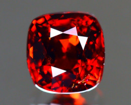 Red Spinel 1.12Ct Cushion Cut Natural Burmese Red Spinel B1920