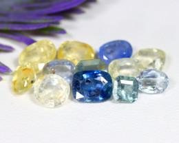 Untreated Sapphire 14.35Ct Natural Ceylon Fancy Sapphire Lot B1928