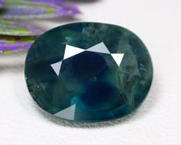 Mermaid Sapphire 7.04Ct Oval Cut Natural Australian Sapphire C1928