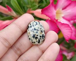 21.440Cts Dalmatian Jasper 100% Natural Unheated Chihuahua Mexico Mine