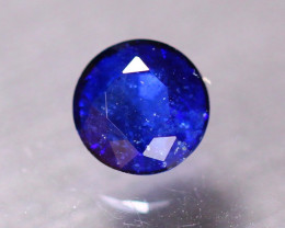 1.17ct Natural Ceylon Blue Sapphire Round Cut Lot LZ574