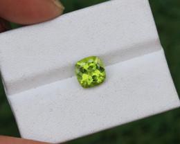 2.28 CTs Natural & Unheated ~ IGI Certified Green Peridot Gemstone