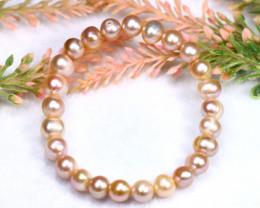 93.00Ct Natural South Sea Pearl Bracelet PBR004