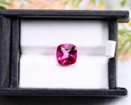5.11ct Natural Pink Topaz Cushion Cut TP002