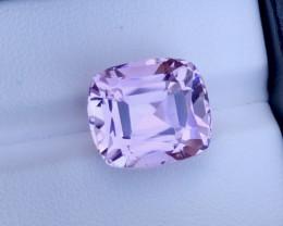 12 Carat One Of best Fancy Cut Kunzite Gemstone