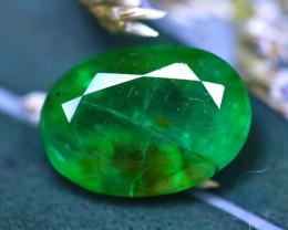 Emerald 1.91Ct Natural Zambia Green Emerald E2317/A38