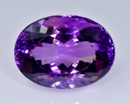 44.41 Crt  amethyst   Natural  Faceted Gemstone.( AB 47)