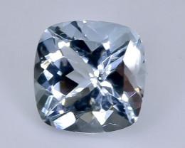 1.36 Crt  aquamarine  Natural  Faceted Gemstone.( AB 47)