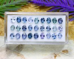 Ceylon Sapphire 7.95Ct Oval Cut Natural Ceylon Blue Sapphire Lot A2104