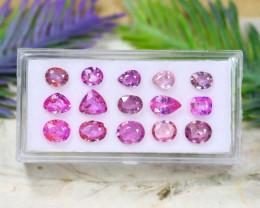 Pink Sapphire 7.87Ct Pear Cut Natural Madagascar Pink Sapphire Lot B2108