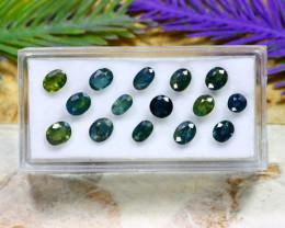Sapphire 7.01Ct Natural Australian Mermaid Sapphire Lot A2210