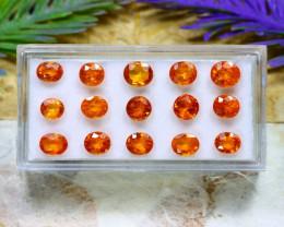 Mandarin 10.74Ct Natural Mandarin Spessartite Garnet Lot B2203