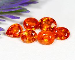 Mandarin 7.53Ct Natural Orange Mandarin Spessartite Garnet Lot B2223
