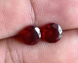 Garnet Gemstone Pair 100% NATURAL AND UNTREATED VA2821