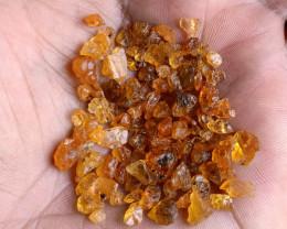 50 Ct Orange Garnet Rough Parcel 100% NATURAL AND UNTREATED VA2822