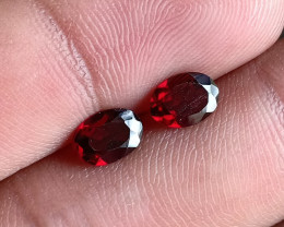 Garnet Gemstone pair 100% NATURAL AND UNTREATED VA2839