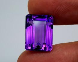 17.65Crt Amethyst Natural Gemstones JI96