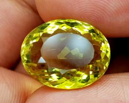 19.75Crt Lemon Quartz Natural Gemstones JI96