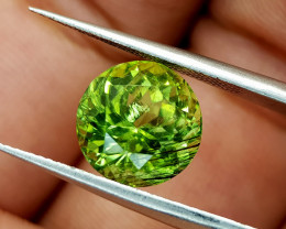 4.65Crt Rutile Peridot Natural Gemstones JI96