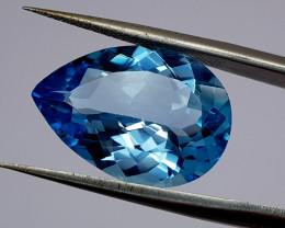 10.25Crt Blue Topaz 17Natural Gemstones JI96
