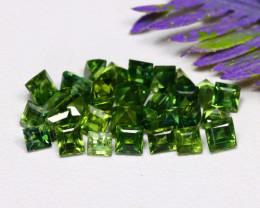 Teal Sapphire 4.68Ct Square Cut Natural Madagascar Teal Sapphire Lot A2333