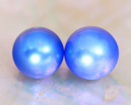 Akoya Pearl 7.2mm 5.79Ct Natural Akoya Blue Pearl C2326