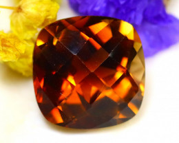 Whisky Topaz 9.03Ct Natural Imperial Whisky Topaz D2424/A46