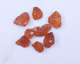 12.55 Carats Natural Spissartite Garnet Rough Lot From Afghanistan