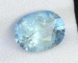 Good Color  2.15 ct Natural Aquamarine Gemstone ~ RS