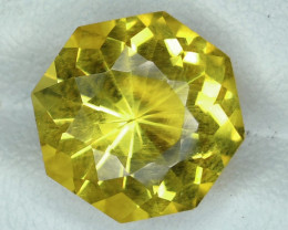 4.80 CTS DAZZLING  NATURAL CITRINE FANCY CUT