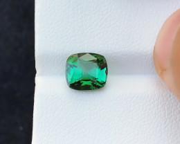2.60 Ct Natural Blueish Green Transparent Tourmaline Gemstone