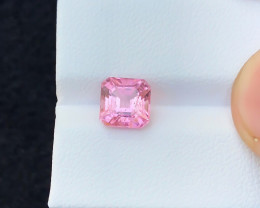 2.30 Ct Natural Pink Transparent Rubellite Tourmaline Gemstone