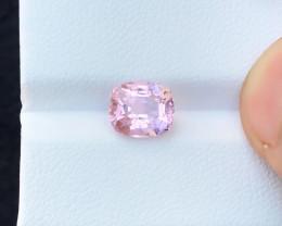 2.35 Ct Natural Pinkish Transparent Rubellite Tourmaline Gemstone