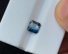0.90 Ct Natural Bi Color Transparent Tourmaline Ring Size Gemstone